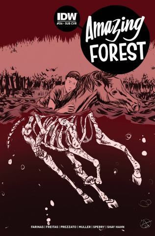 Amazing Forest #6 (Subscription Cover)