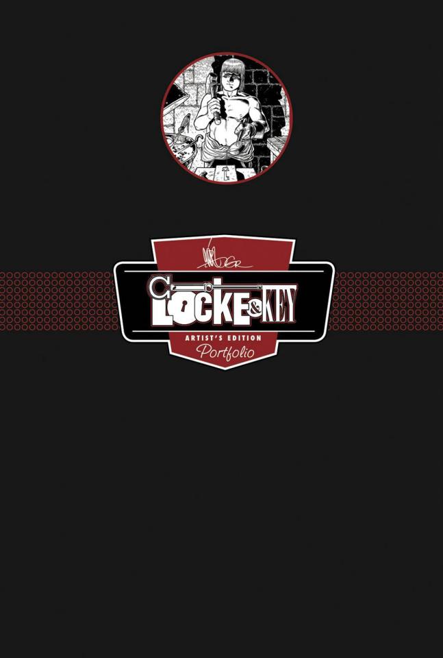 Gabriel Rodriguez's Locke & Key Artists Edition Portfolio