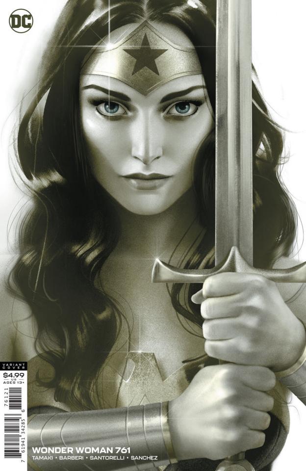 Wonder Woman #761 (Joshua Middleton Card Stock Cover)