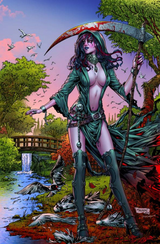 Grimm Fairy Tales: No Tomorrow #3 (Malsuni Cover)
