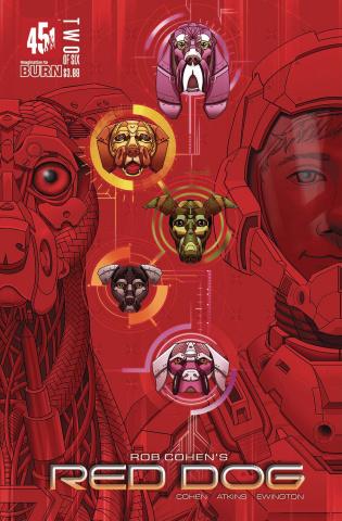 Red Dog #2 (Velez Cover)
