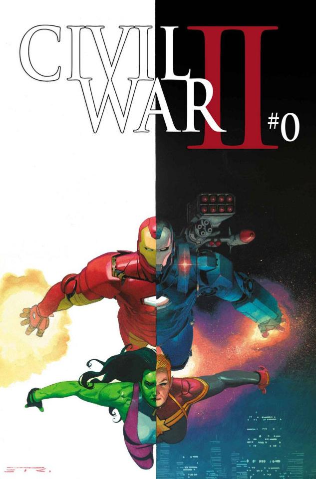 Civil War II #0 (Ribic Cover)