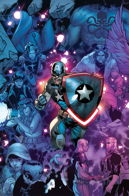 Captain America: Steve Rogers #16 (R.B. Silva Connecting Cover)