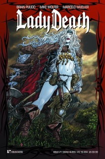 Lady Death #21 (Viking Queen Cover)