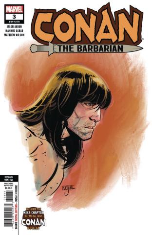 Conan the Barbarian #3 (Asrar 2nd Printing)