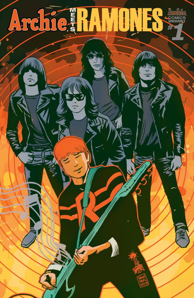 Archie Meets the Ramones (Francavilla Cover)
