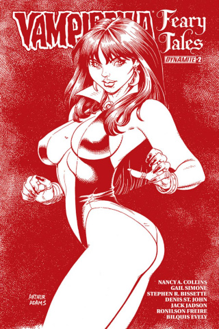 Vampirella: Feary Tales #2 (Adams Blood Red Cover)