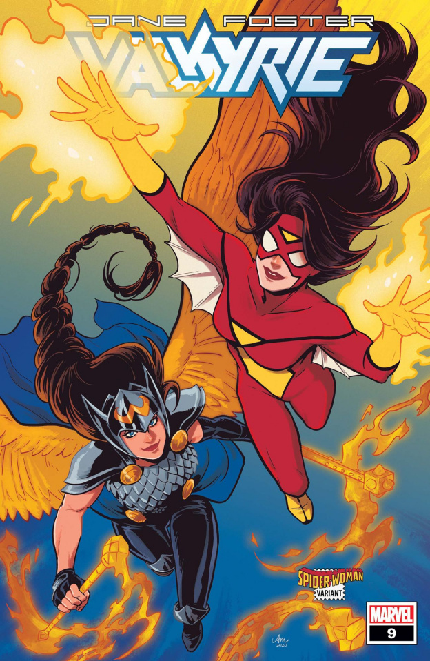 Jane Foster: Valkyrie #9 (Mok Spider-Woman Cover)