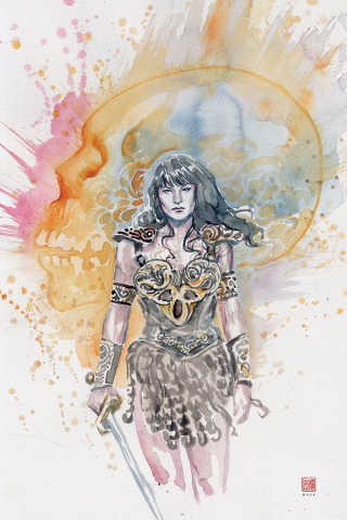 Xena: Warrior Princess #5 (10 Copy Mack Virgin Cover)