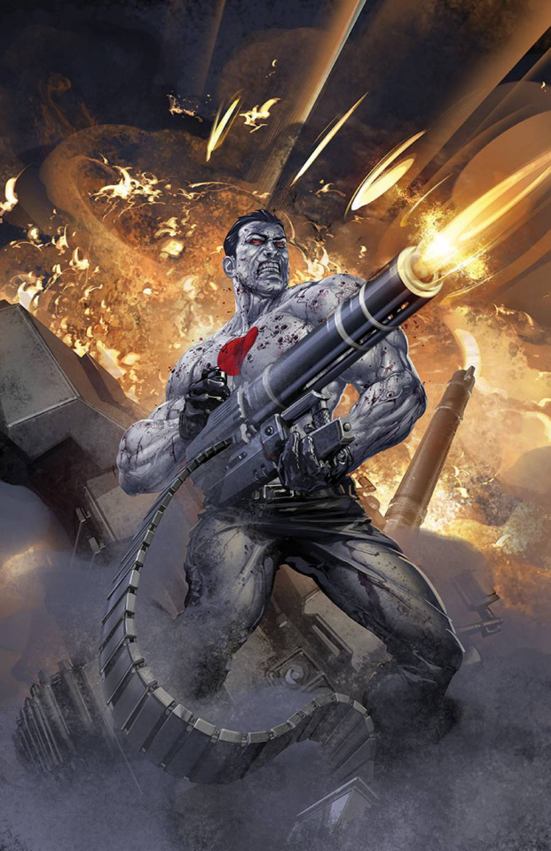Bloodshot & H.A.R.D. Corps #19 (Crain Cover)