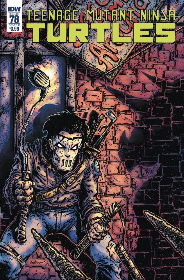 Teenage Mutant Ninja Turtles #78 (Eastman Cover)