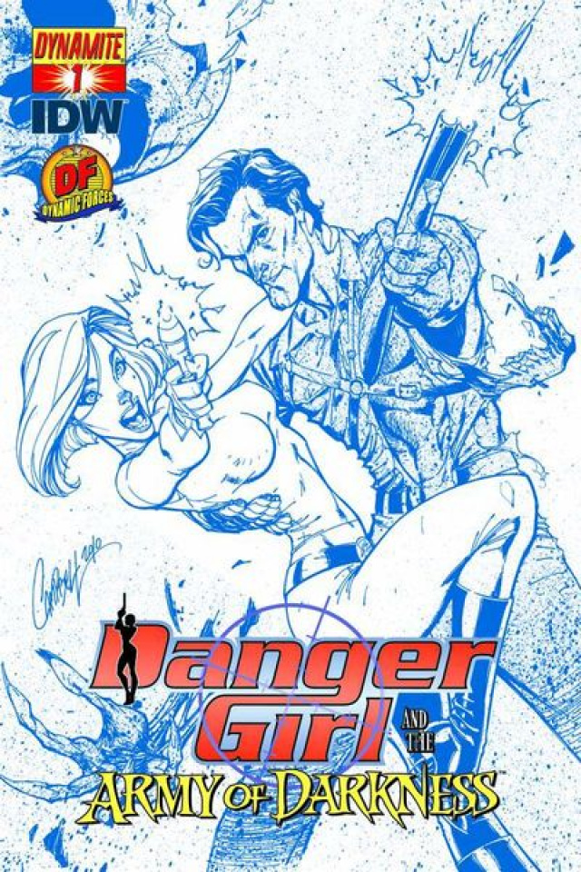Danger Girl and the Army of Darkness #1 (Dynamic Forces)