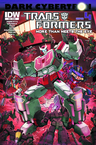The Transformers: More Than Meets the Eye #24: Dark Cybertron, Part 4