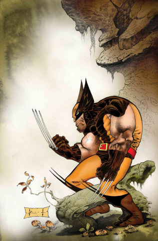 Wolverine: Exit Wounds #1 (Keith Cover)