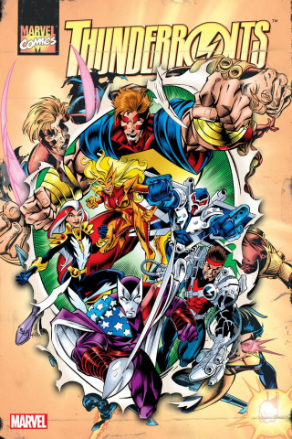 Thunderbolts Vol. 1 (Omnibus Bagley Annual Cover)