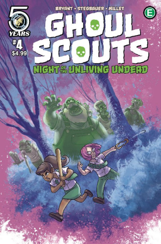 Ghoul Scouts: Night of the Unliving Undead #4 (Eneas Cover)