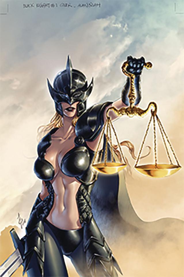 Black Knight #1 (Quah Cover)