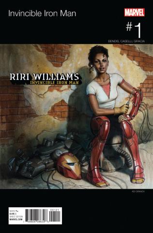 Invincible Iron Man #1 (Granov Hip Hop Var Cover)