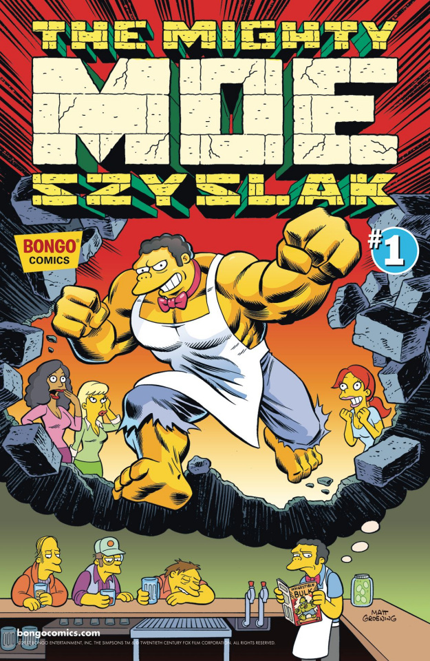 The Mighty Moe Szyslak #1