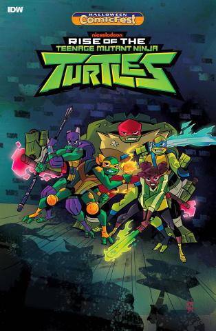 Rise Of The Teenage Mutant Ninja Turtles (Halloween ComicFest 2018)