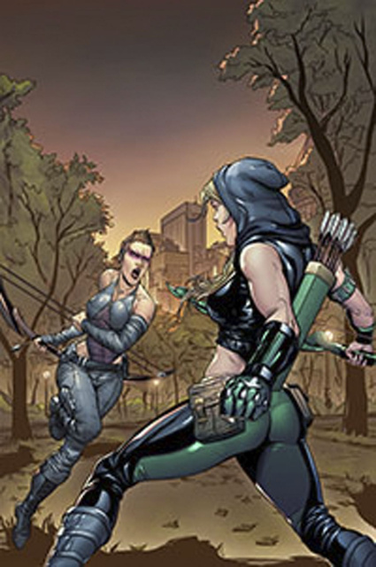 Grimm Fairy Tales: Robyn Hood - I Love NY #11 (Rosete Cover)