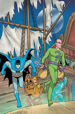 The Batman & Scooby-Doo! Mysteries #9