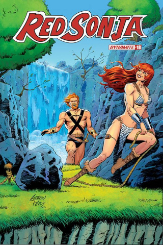 Red Sonja #18 (10 Copy Pepoy Seduction Cover)