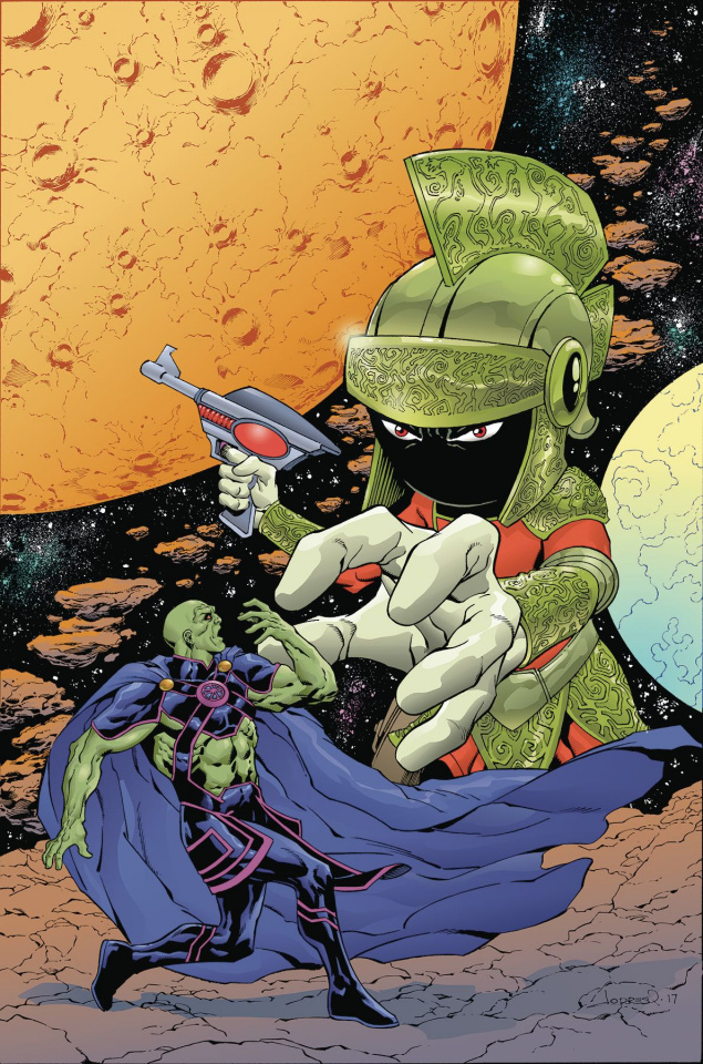 Martian Manhunter / Marvin the Martian Special #1