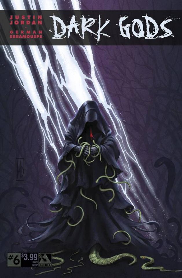 Dark Gods #6 (Deity Cover)
