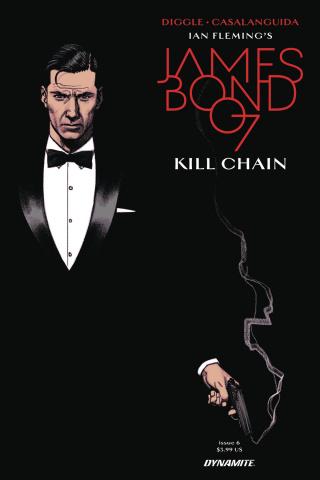James Bond: Kill Chain #6 (Smallwood Cover)