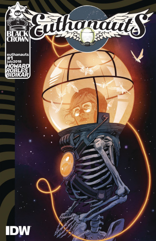 Euthanauts #1 (Robles Cover)