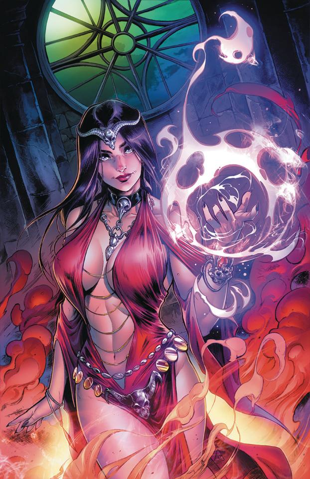 Grimm Fairy Tales #37 (Zaldivar Cover)