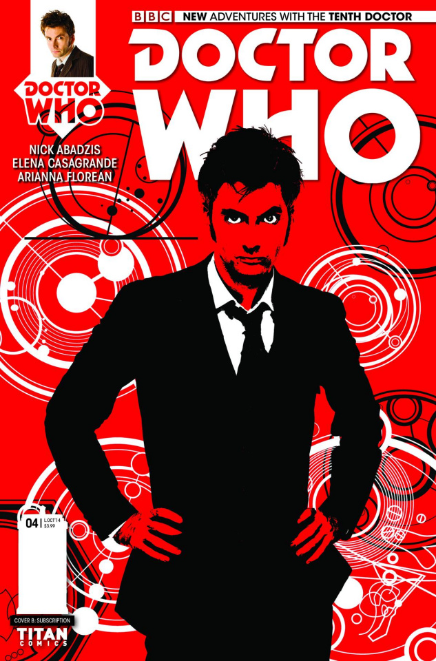 Doctor Who: New Adventures with the Tenth Doctor #4 (Subscription Cover)