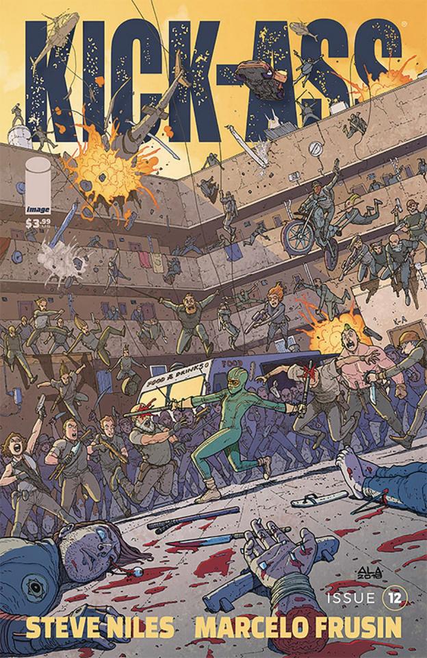 Kick-Ass #12 (Araujo Cover)