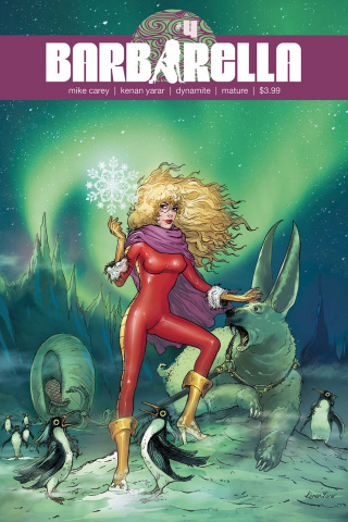 Barbarella #4 (Yarar Subscription Cover)