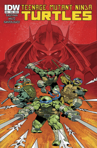 Teenage Mutant Ninja Turtles #50 (Cover C)