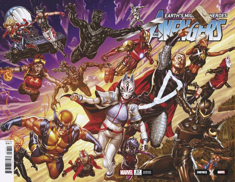 Avengers #37 (Brooks Fortnite Cover)