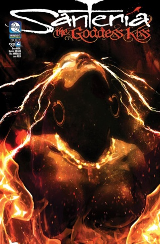Santeria: The Goddess Kiss #4 (Callahan Cover)