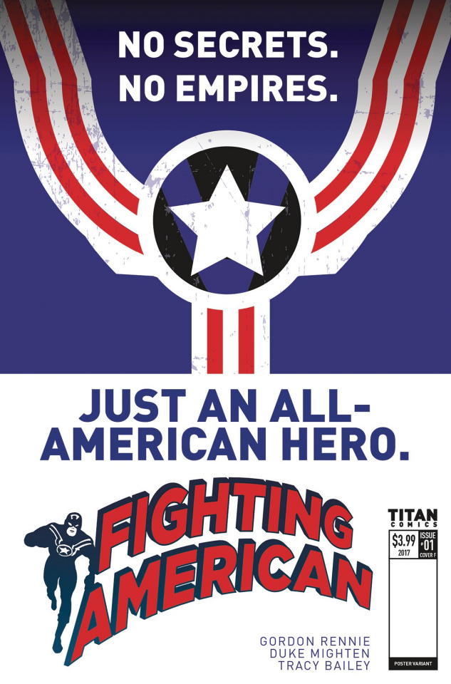 Fighting American #1 (Poster Cover)