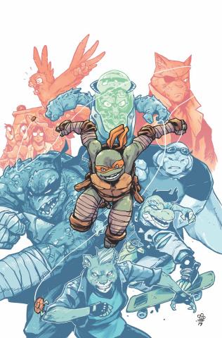 Teenage Mutant Ninja Turtles #98 (10 Copy Dialynas Cover)