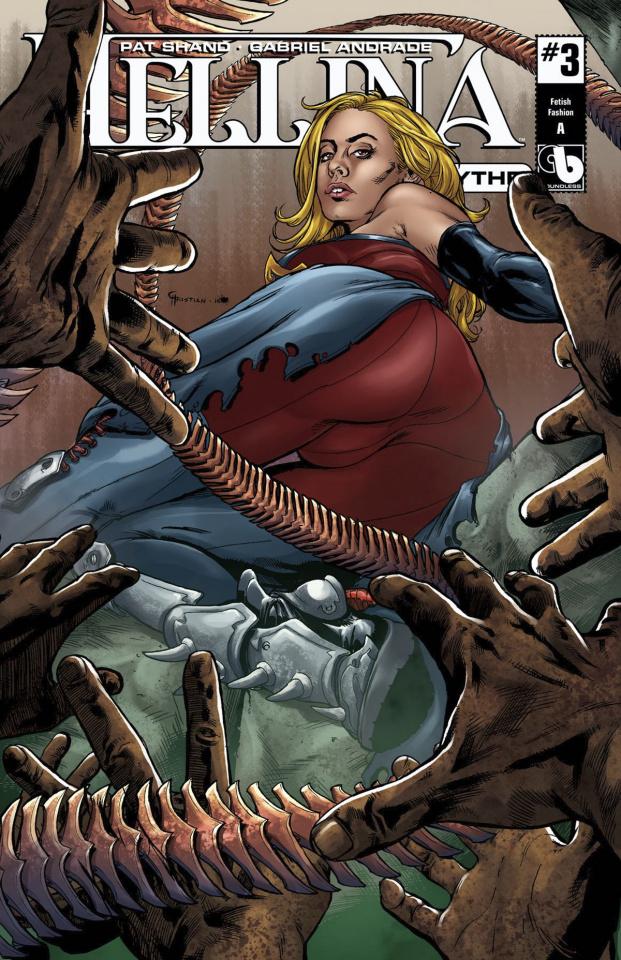 Hellina: Scythe #3 (Wrap Nude Cover)