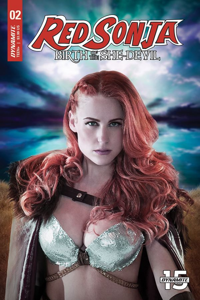 Red Sonja: Birth of the She-Devil #2 (Cosplay Cover)