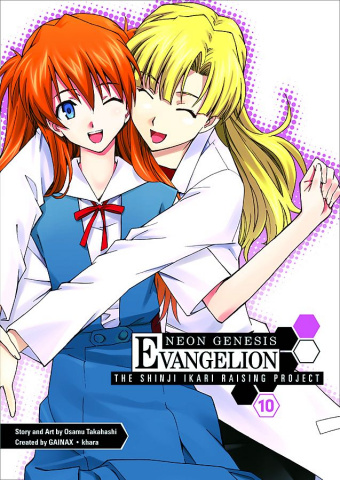 Neon Genesis Evangelion: The Shinji Ikari Raising Project Vol. 10