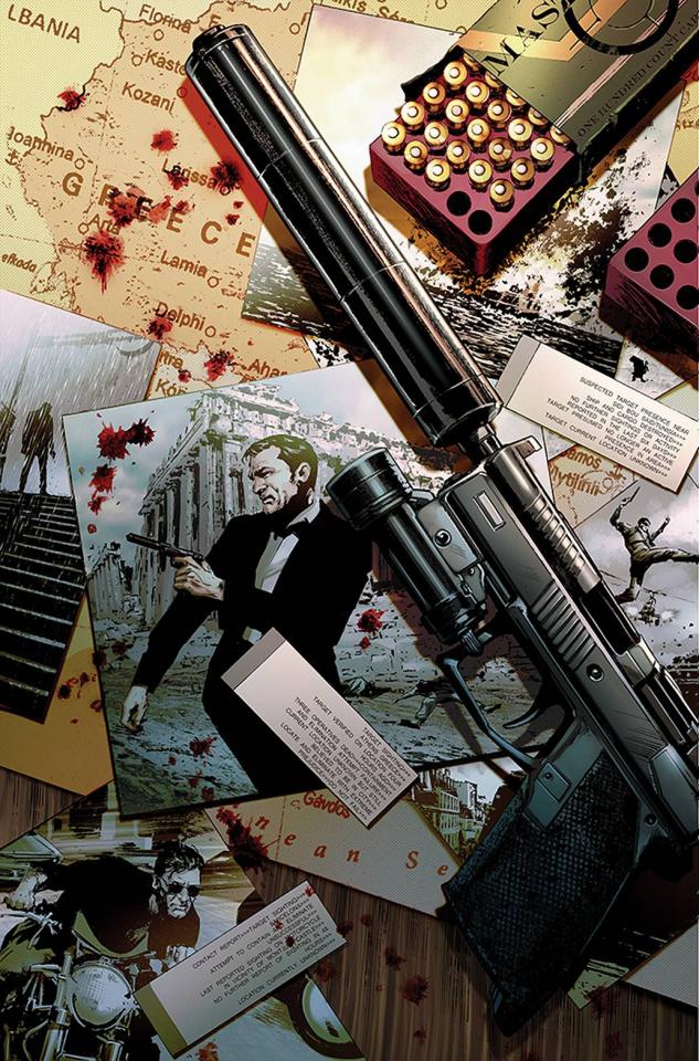 James Bond: Agent of SPECTRE #4 (10 Copy Guice Virgin Cover)