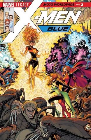 X-Men: Blue #13: Legacy