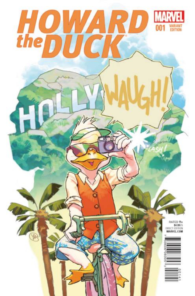 Howard the Duck #1 (Movie Image Cover)