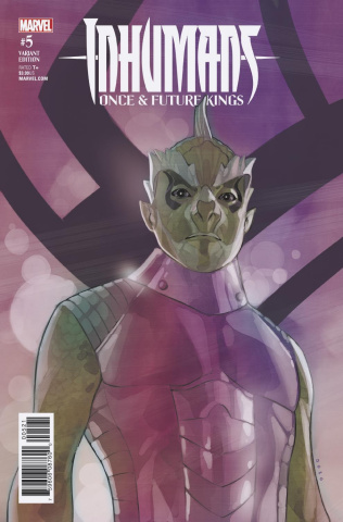 Inhumans: Once & Future Kings #5 (Noto Character Cover)