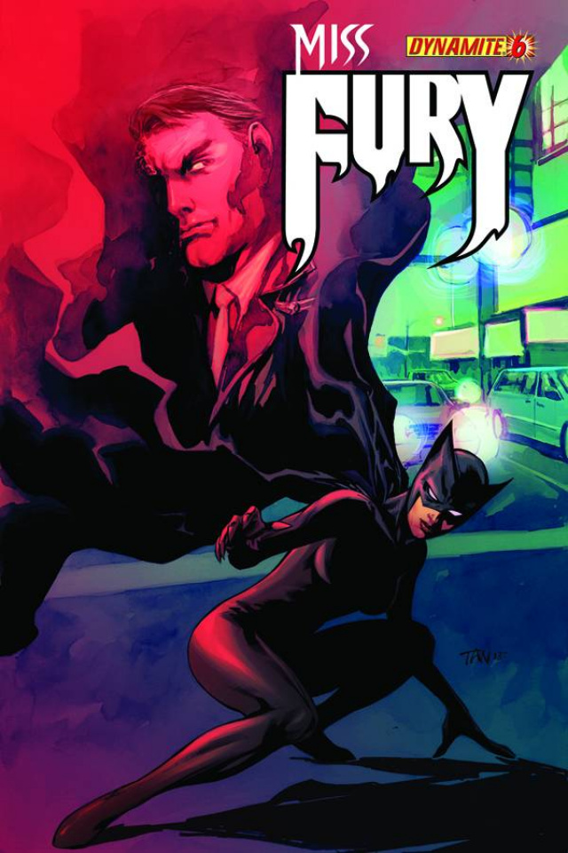Miss Fury #6 (Tan Cover)