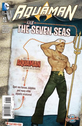 Aquaman #43 (Bombshells Cover)