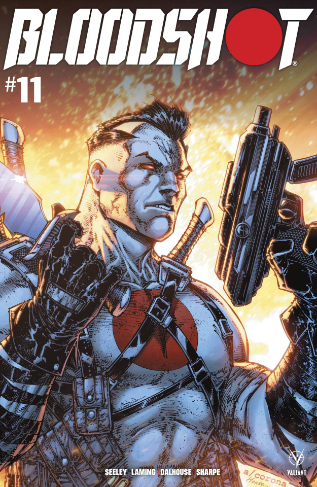 Bloodshot #11 (Corona Cover)